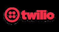 Twilio logo red